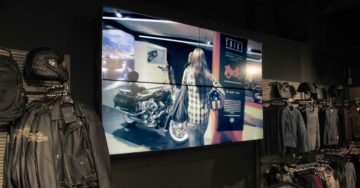 2x2 Videowall 55inch New York