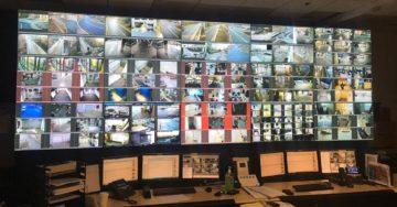 55inch 5x3 Videowall, control center