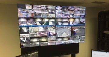 55inch 2x2 Videowall, control center
